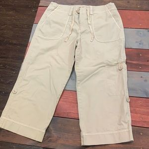 3 FOR $20 Eddie Bauer Khaki Cargo Pants Size 12
